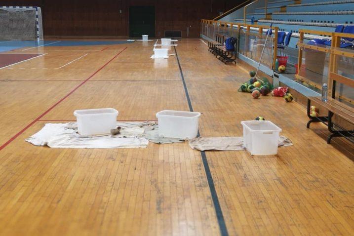 Ovako je izgledalo borilište Dvorane mladosti prijašnjih tjedana
