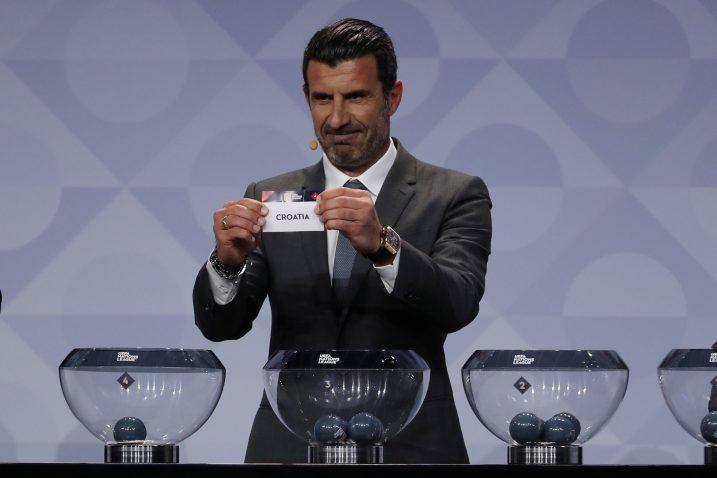 Hrvatsku je izvukao legendarni Luis Figo/Foto REUTERS
