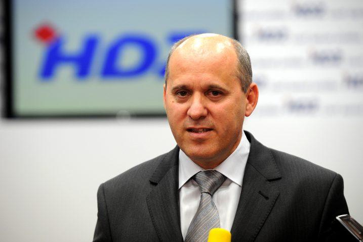 HDZ-ov Branko Bačić bio je jedan od vodećih ljudi tvrtke od njene privatizacije / Snimio Denis LOVROVIĆ