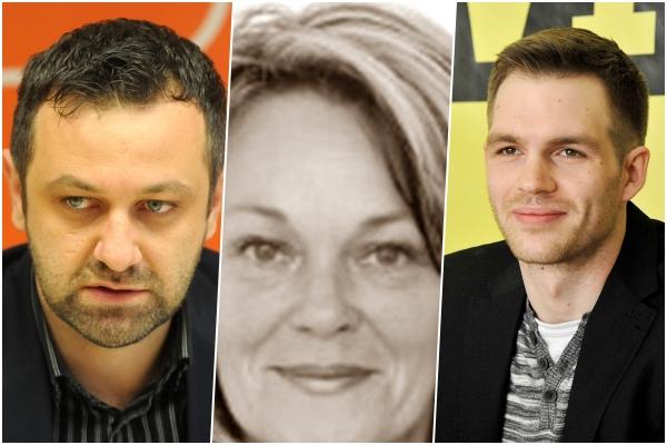 Tihomir Čordašev, pokojna Mirjana Jukić i Antonio Dražović