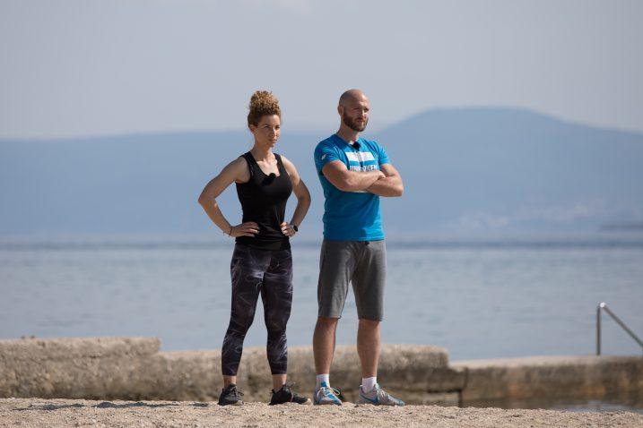Novi treneri Maja Ćustić i Edin Mehmedović / Foto  MAJA BOTA ZA RTL