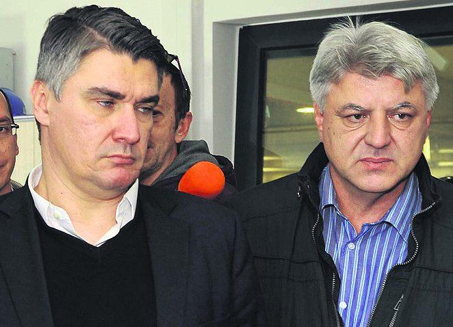 Zoran Milanović i Zlatko Komadina / Foto: S. DRECHSLER