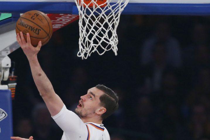 Mario Hezonja (NY Knicks)/Foto REUTERS
