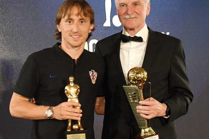Luka Modrić i Boris Nemac / Foto: I. TOMIĆ