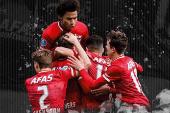 Nogometaši AZ Alkmaara/Foto Instagram
