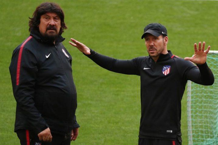 German Burgos i Diego Simeone/Foto REUTERS