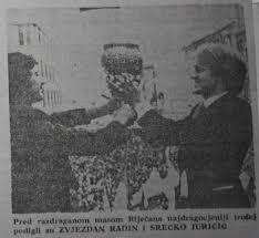Zvjezdan Radin i Srećko Juričić ovjekovječeni s važom u Novom listu