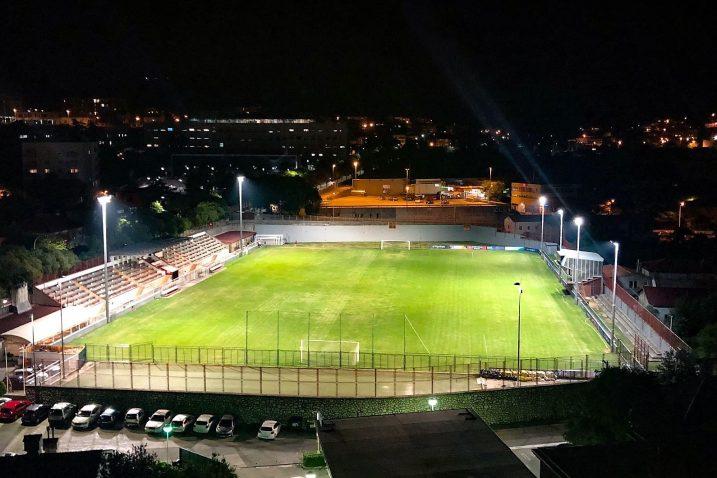 Noćna vizura Orijentova stadiona
