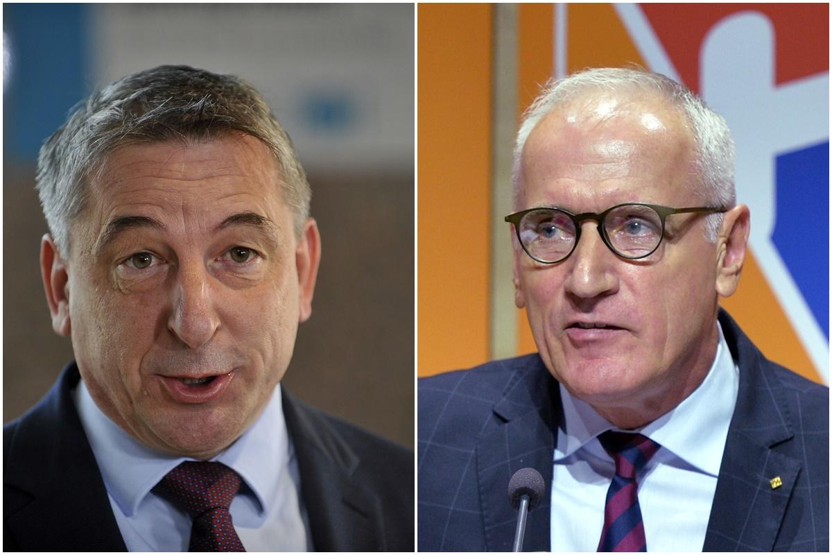 Predrag Štromar i Boris Blažeković, tko će voditi HNS? foto: Novi list, Pixsell