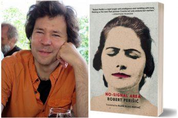 Ivan Sršen - Sandorf, naslovnica romana Roberta Perišića