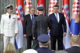 Milanovićev prijem za visoke časnike OS RH / Snimio Davor KOVAČEVIĆ