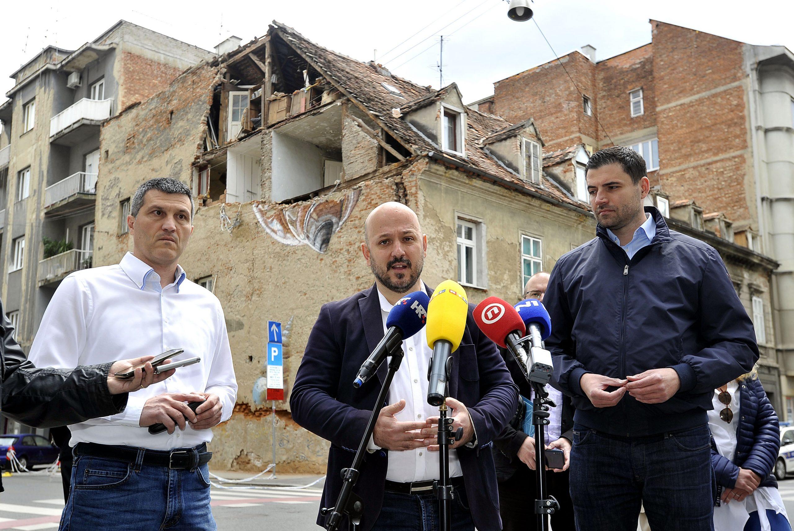 Gordan Maras i Davor Bernardić / Foto: D. KOVAČEVIĆ