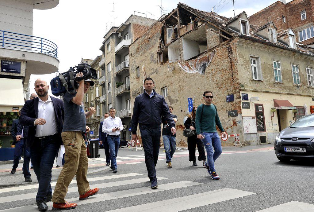 Gordan Maras i Davor Bernardić predstavili plan za obnovu Zagreba / Foto: D. KOVAČEVIĆ