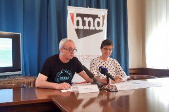 Hrvoje Zovko i Maja Sever / Foto: B. PAVELIĆ