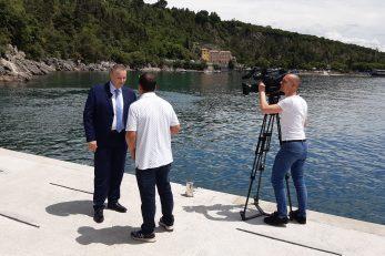 Češka TV snima prilog o hrvatskom turizmu / Snimio Edi PRODAN