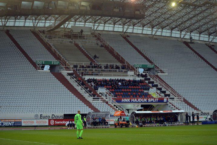 Hajduk nije ni približno uvjerljiv kada se makne s Poljuda/Foto Arhiva NL
