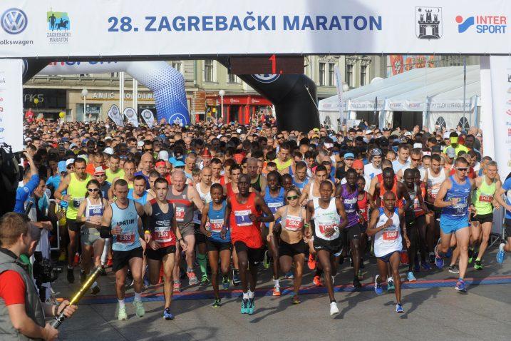 Start 28. Zagrebačkog maratona/Foto Arhiva NL