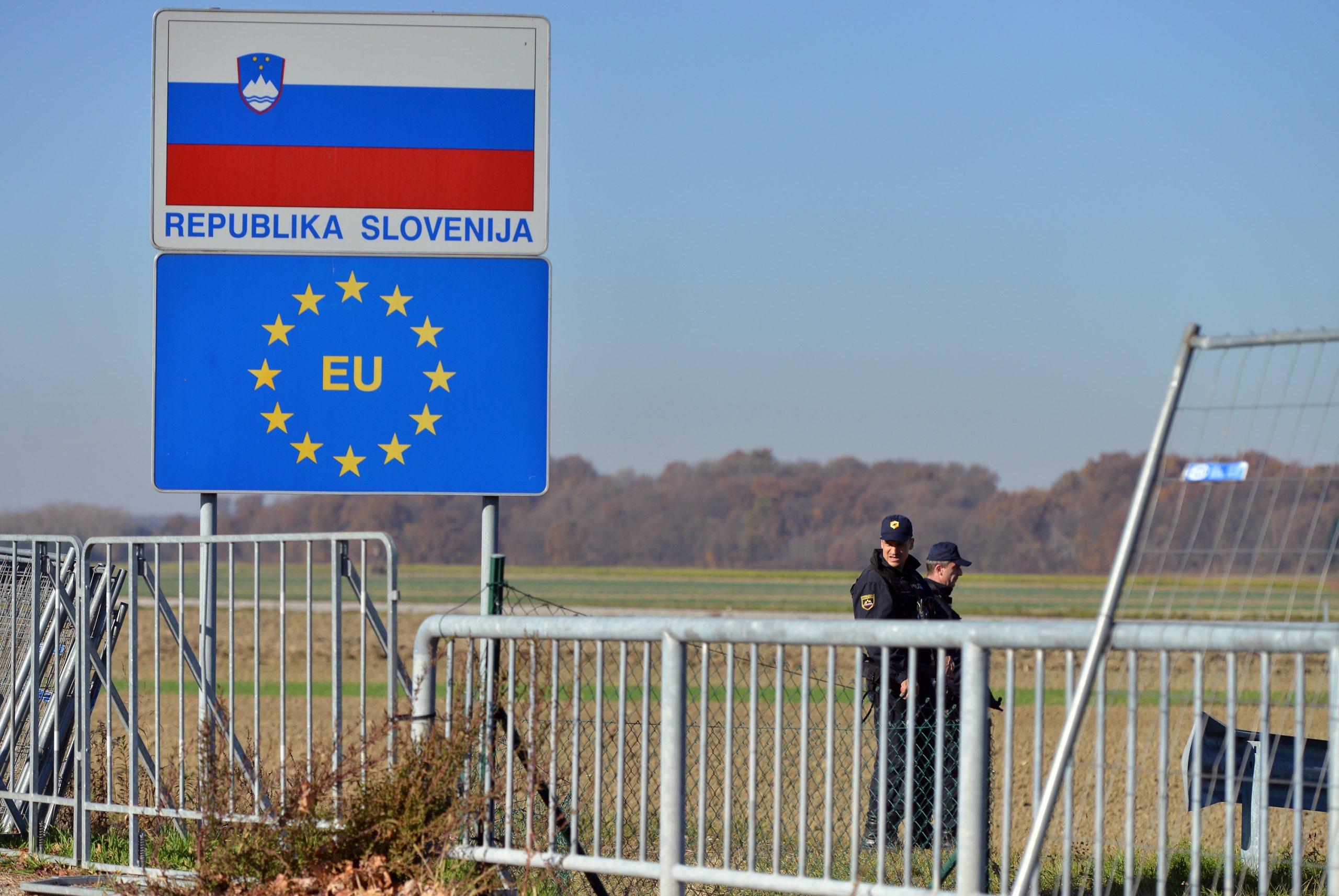 Slovensko-hrvatska granica / Foto Photo: Marko Jurinec/PIXSELL