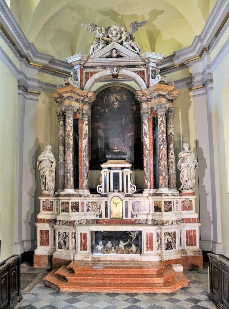 Glavni oltar u nekadašnjoj augustinskoj crkvi svetog Jeronima / Snimio Damir TULIĆ