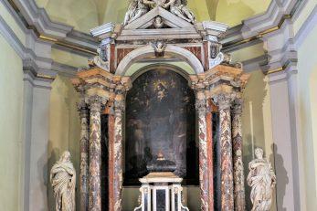 Glavni oltar u nekadašnjoj augustinskoj crkvi svetog Jeronima / Foto DAMIR TULIĆ
