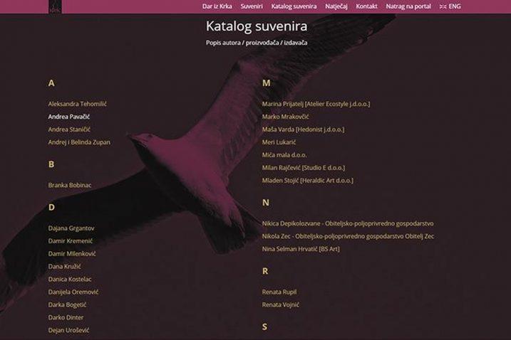 Fotografsku arhivu svih krčkih suvenira moguće je pretraživati po abecedi / Snimio Mladen TRINAJSTIĆ
