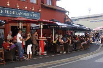 The Highlander Pub - Tijekom dana omiljeno mjesto druženja / Snimio Marin SMOLČIĆ