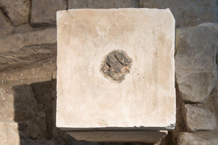 Oltar na kojem su pronađeni tragovi kanabisa / REUTERS