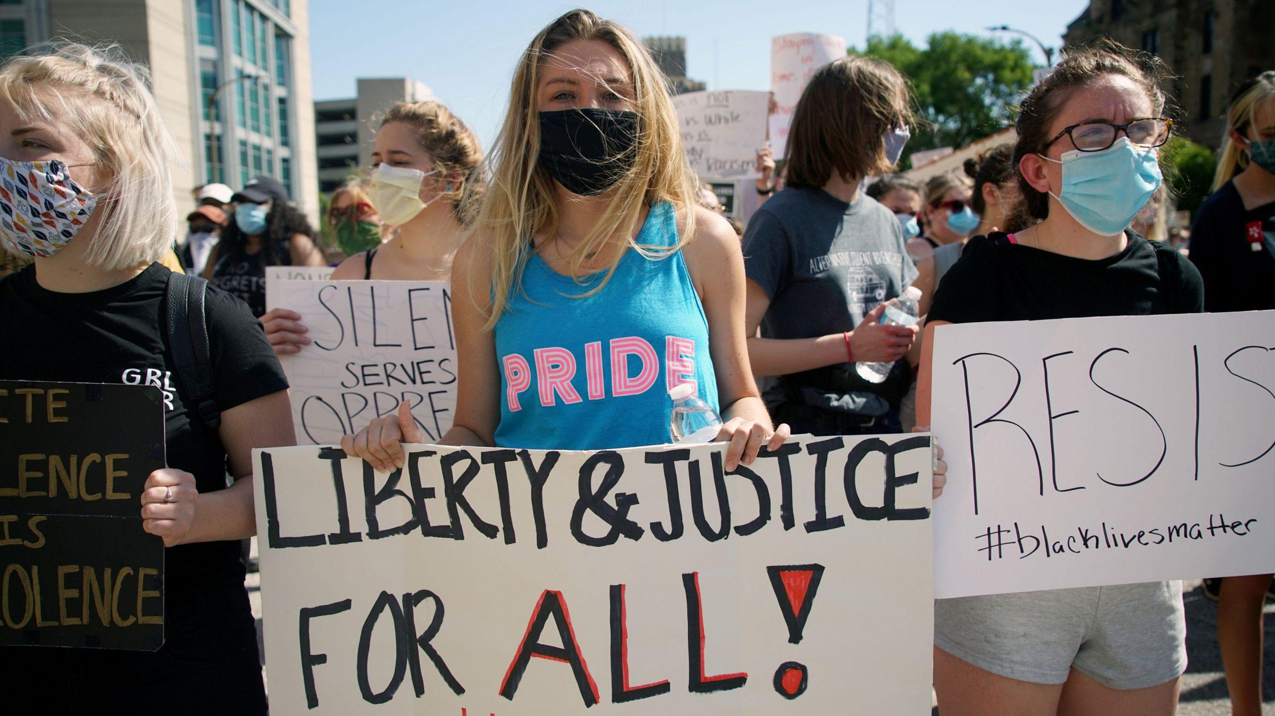 Prosvjedi u Minneapolisu / Reuters