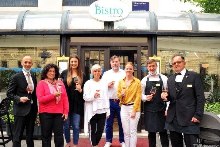 Ocjenjivački sud na ocjenjivanju u zagrebačkom Bistrou hotela Esplanade / Foto J. FRANGEN