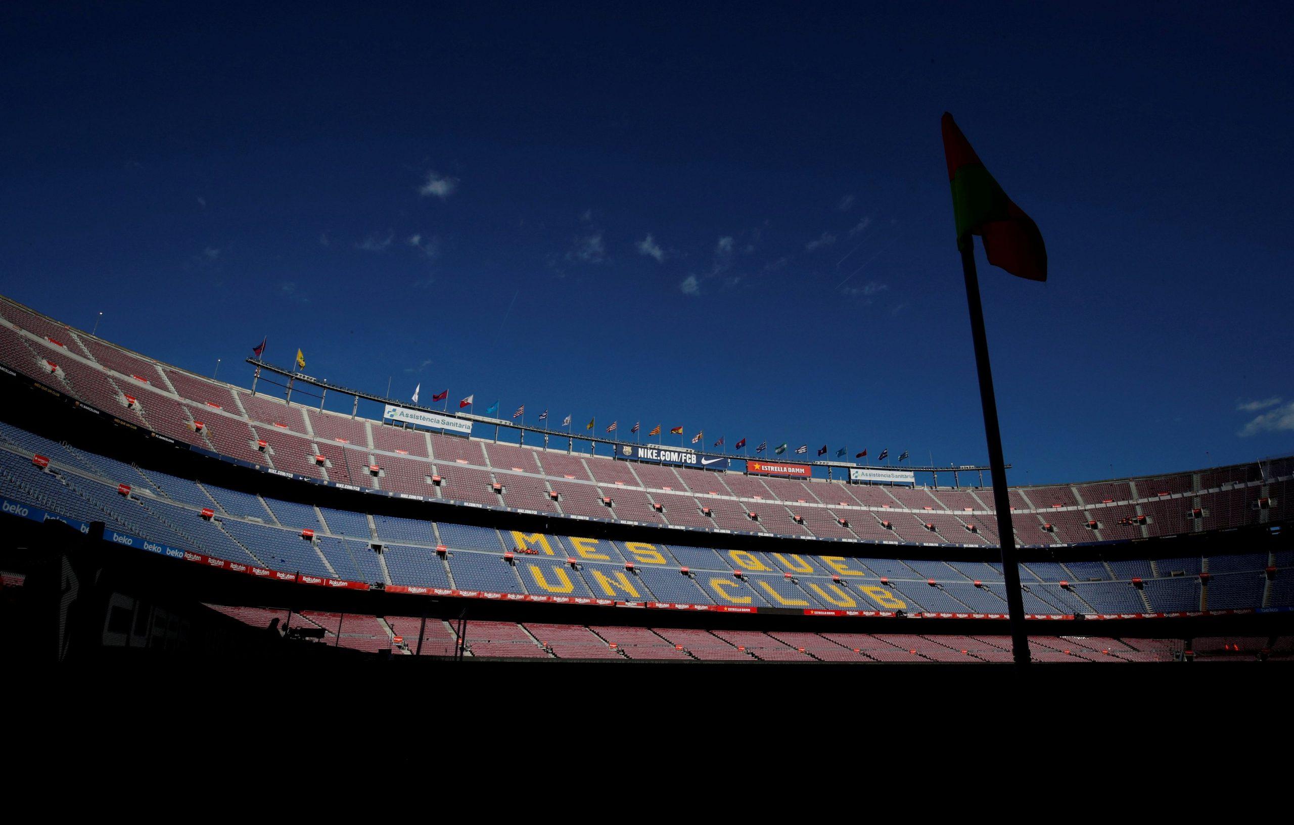 Barcelonin stadion Camp Nou/Foto REUTERS