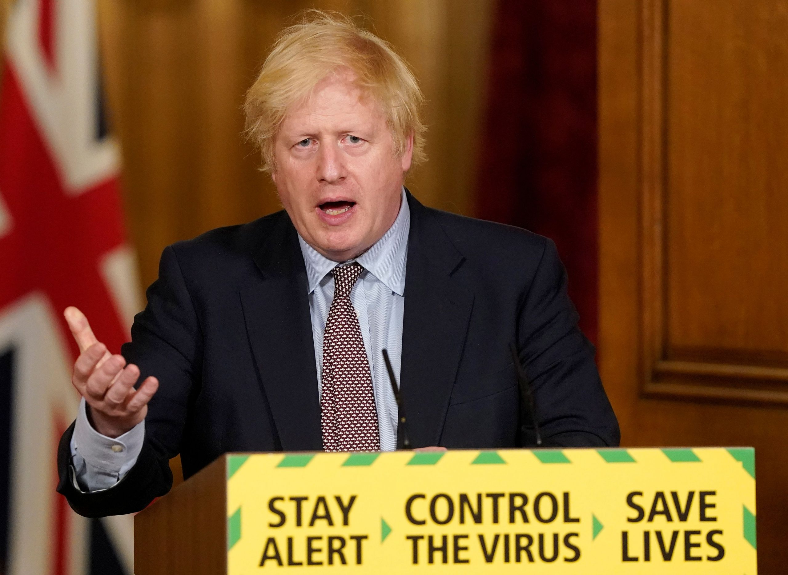 Boris Johnson / Reuters