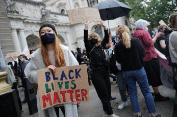 Prosvjed u Londonu nakon ubojstva Georgea Floyda / Reuters