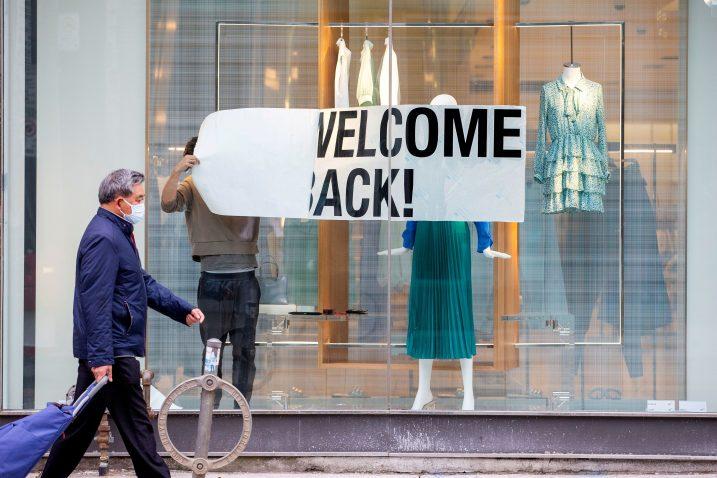Prodaja odjeće i obuće nije se podigla »na normalnu razinu« / REUTERS
