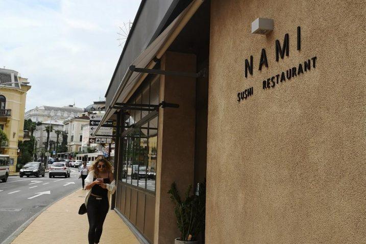 Sushi restoran NAMI u Opatiji / Snimila A. KUĆEL ILIĆ
