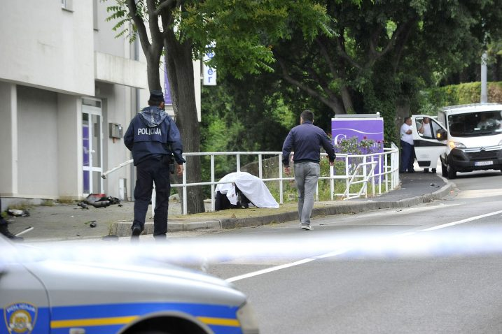 Poginuo motociklist na Kozali / Snimio Sergej DRECHSLER