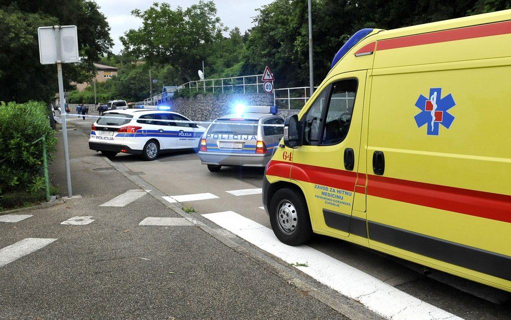 Prometna nesreća na Kozali / Snimio Sergej DRECHSLER