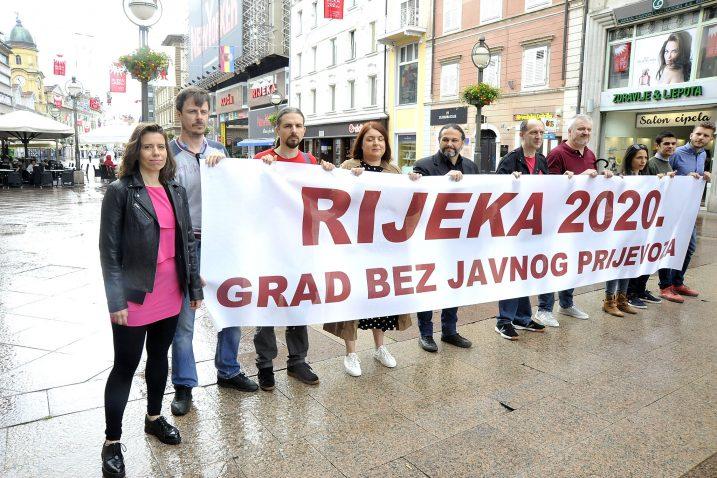 Katarina Peović u Rijeci / Snimio Sergej DRECHSLER