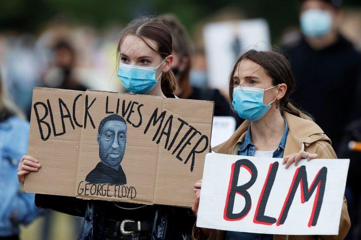 BLM pokret se nezaustavljivo širi po svijetu/Foto REUTERS