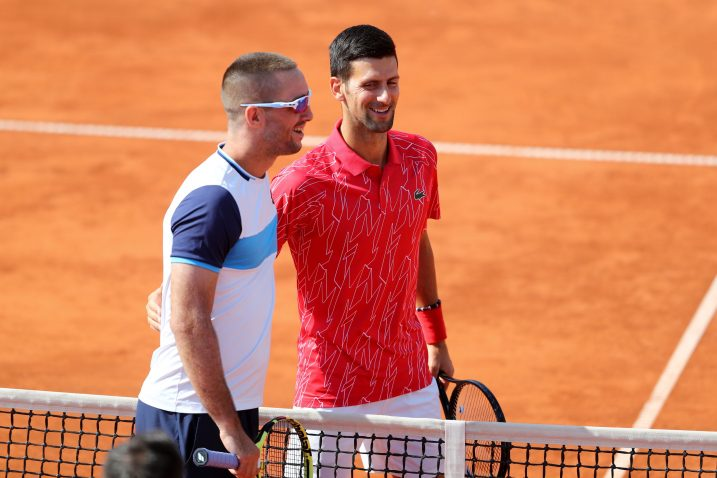 Viktor Troicki i Novak Đoković/Foto REUTERS