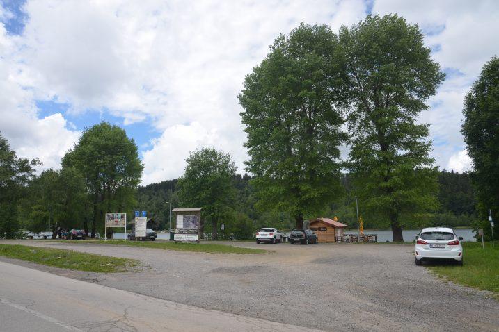 : Parkiralište na Čoki trebalo bi donekle riješiti problem parkiranja u Fužinama / Foto M. KRMPOTIĆ