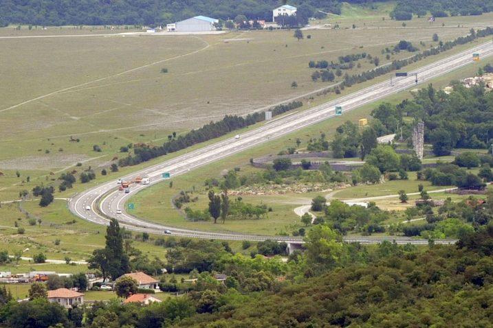 Mjesto na autocesti Rijeka - Zagreb gdje bi se mogao graditi čvor Soboli / Snimio Sergej DRECHSLER