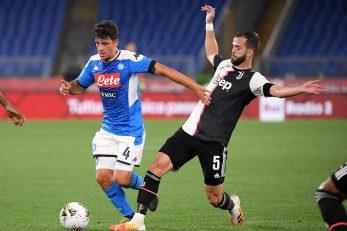 Diego Demme (Napoli) i Miralem Pjanić (Juventus)/Foto REUTERS
