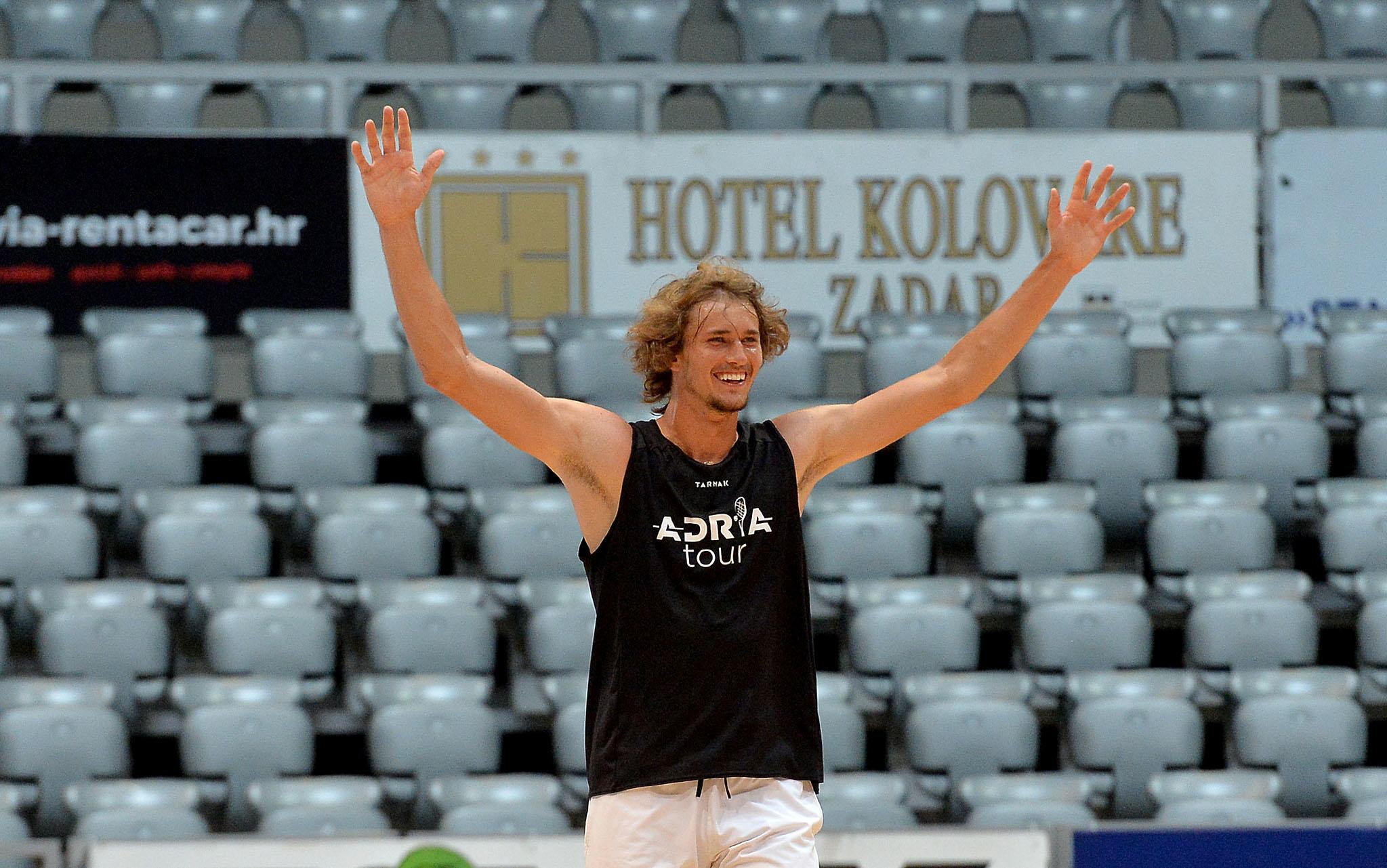Alexander Zverev/Foto Zadarski list