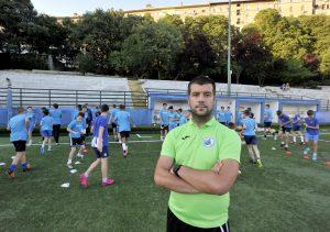 Marin Juričić, koordinator za mlađe uzraste u NK Lokomotiv/D. ŠKOMRLJ