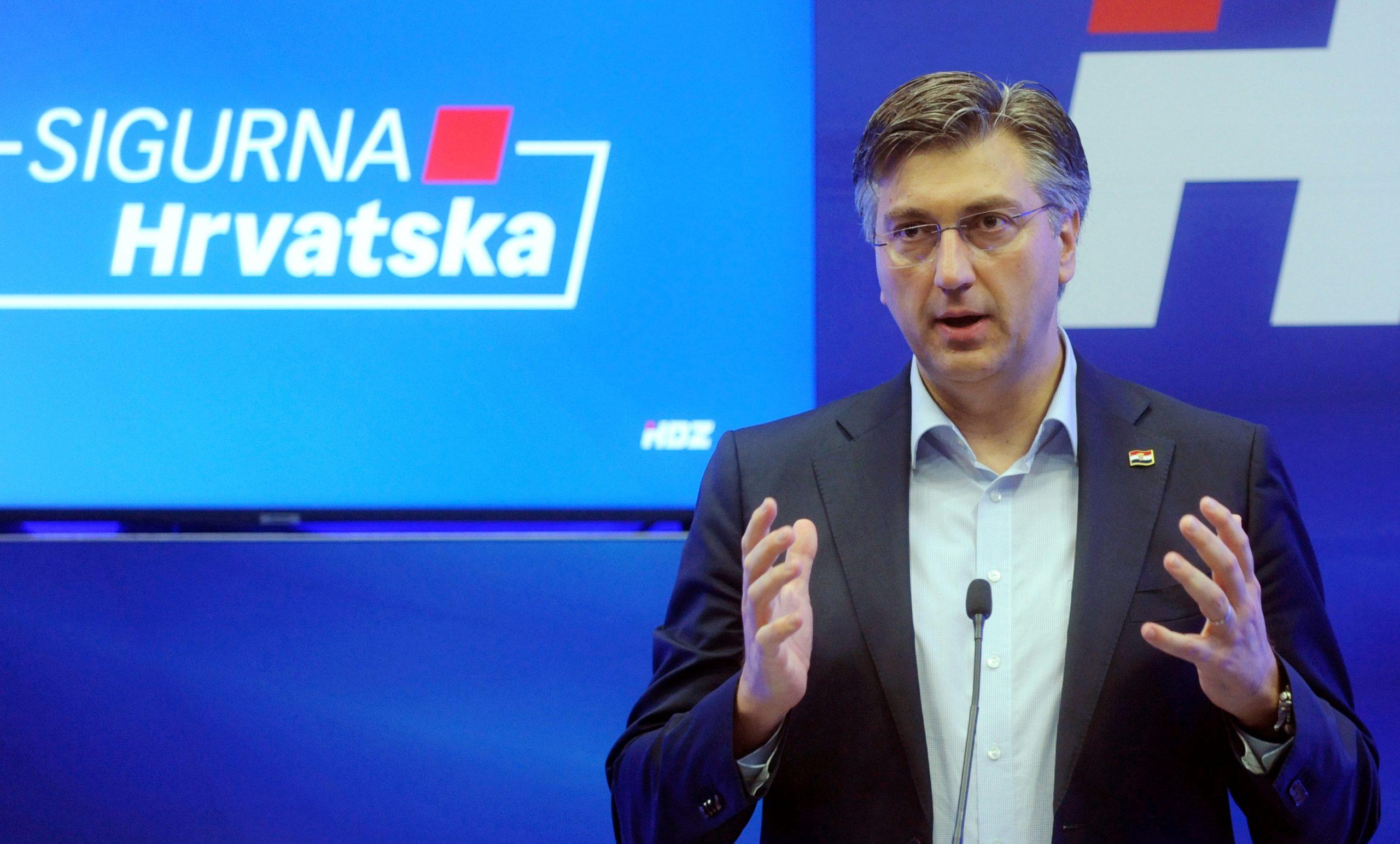 Andrej Plenković / Foto Darko JELINEK