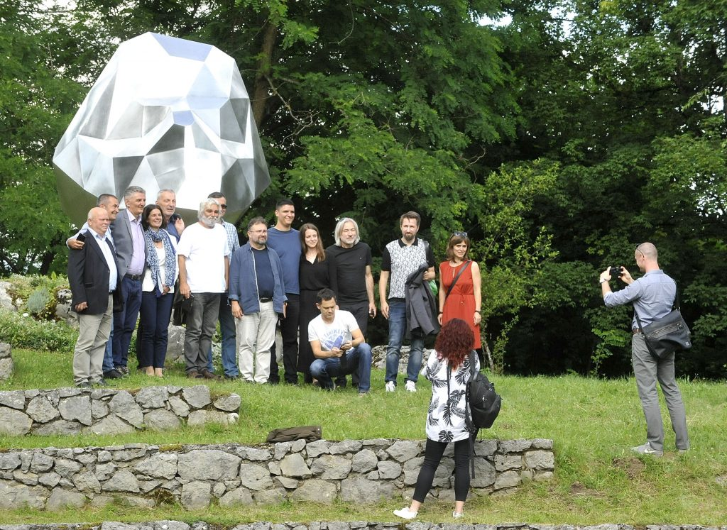 Sudionici svečanosti u Lukovdolu / Snimio S. DRECHSLER