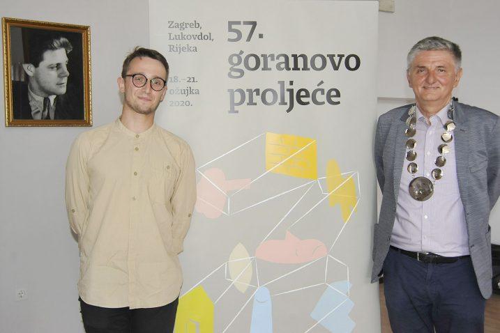 Tomislav Augustinčić i Mroslav Mićanović / Snimio S. DRECHSLER