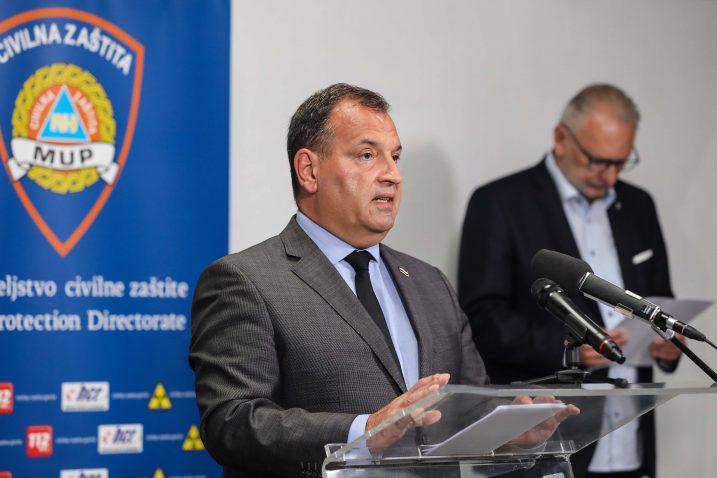 Stožer civilne zaštite / Foto Jurica Galoic/PIXSELL