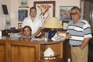 Sergio Machin sa sinovima vodi obiteljski hotel u Novigradu