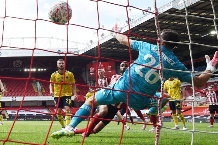 David McGoldrick uspio je zabiti prvi gol za Sheffield u nastavku sezone/Foto REUTERS